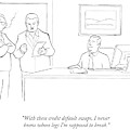 With These Credit Default Swaps by Paul Noth