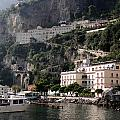 Views From The Amalfi Coast In Italy by Richard Rosenshein