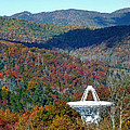 26 West Antenna And The Blueridge by Duane McCullough