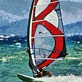 Windsurfing by George Atsametakis