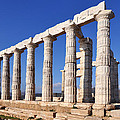 Poseidon Temple by George Atsametakis