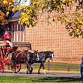 Williamsburg Virginia Usa by Paul James Bannerman