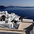 Views Of Santorini Greece by Richard Rosenshein