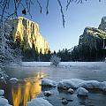 2m6538-yosemite Valley In Winter by Ed  Cooper Photography