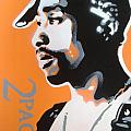 2pac In Orange by Leon Keay