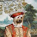 Silky Terrier Art Canvas Print by Sandra Sij