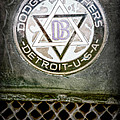 1923 Dodge Brothers Depot Hack Emblem by Jill Reger