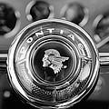 1933 Pontiac Steering Wheel Emblem by Jill Reger