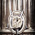 1933 Stutz Dv-32 Five Passenger Sedan Emblem by Jill Reger