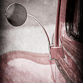 1940 Ford Deluxe Coupe Rear View Mirror by Jill Reger