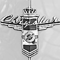 1948 Chrysler Town And Country Sedan Emblem by Jill Reger