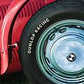1952 Frazer-nash Le Mans Replica Mkii Competition Model Tire Emblem by Jill Reger