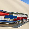 1955 Chevrolet Belair Emblem by Jill Reger
