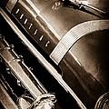 1955 Pontiac Star Chief Grille Emblem - Hood Ornament by Jill Reger