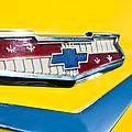 1956 Chevrolet Belair Emblem by Jill Reger