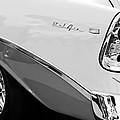 1956 Chevrolet Belair Nomad Taillight Emblem by Jill Reger