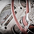 1956 Ford Thunderbird Steering Wheel by Jill Reger