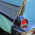 1957 Chevrolet Belair Taillight by Jill Reger