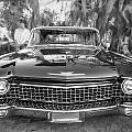 1960 Cadillac Eldorado Biarritz Convertible Painted Bw by Rich Franco
