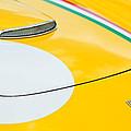 1964 Ferrari 250 Gt Lusso Hood Emblem by Jill Reger