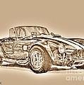 1965 Shelby Ac Cobra by J McCombie