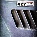 1965 Shelby Cobra 427 Emblem by Jill Reger