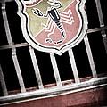 1967 Fiat Abarth 1000 Otr Emblem by Jill Reger