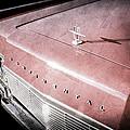 1967 Lincoln Continental Hood Ornament - Emblem by Jill Reger