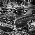 1967 Pontiac Gto Bw by Rich Franco