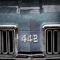 1970 Oldsmobile 442 Grille Emblem by Jill Reger