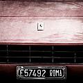 1972 Ferrari 365 Gtb-4a Grille Emblem by Jill Reger