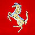 1999 Ferrari 550 Maranello Stallion Emblem by Jill Reger