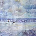 34th St. Beach by Loretta Luglio