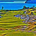 #5 At Chambers Bay Golf Course - Location Of The 2015 U.s. Open Tournament by David Patterson