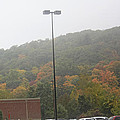 A Foggy Autumn Day At The United States Military Academy by James Connor
