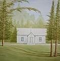 A North Carolina Church by Stacy C Bottoms