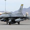 A U.s. Air Force F-16c Fighting Falcon by Riccardo Niccoli
