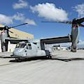 A U.s. Marine Corps Mv-22b Osprey by Riccardo Niccoli