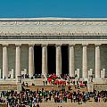 Abraham Lincoln Memorial In Washington Dc Usa by Alex Grichenko