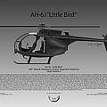 Ah-6j Little Bird by Arthur Eggers