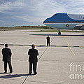 Air Force One by Jim West