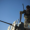An Afghan National Army Soldier by Stocktrek Images