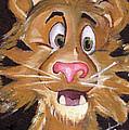 Tiger Art by Pikotine Art