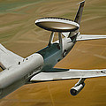 Awacs Up For A Drink by Dale Jackson