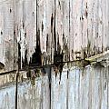 Battered Wooden Wall by Fizzy Image