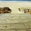 Beach View by Les Cunliffe