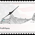 Bell Boeing Mv-22b Osprey by Arthur Eggers