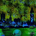 Big Ben On The River Thames by Marina McLain