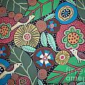 3 Bird Botanical by Karla Gerard