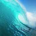 Blue Ocean Wave by Design Pics Vibe
